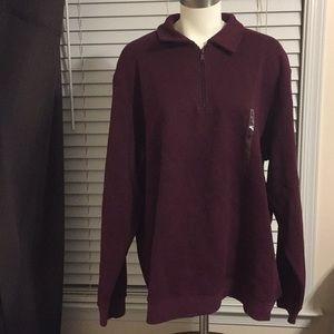Burgundy Croft and barrow sweat shirt